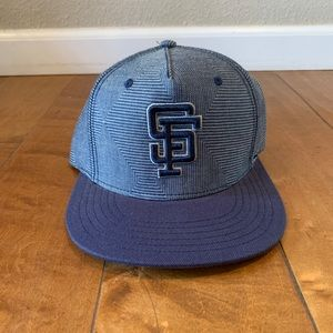 SnapBack giants hat